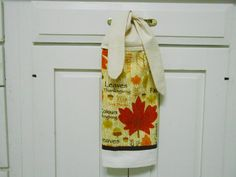 Kitchen Hand Towel Tie On Towel Towel With Ties By AkornShop, $5.95