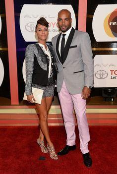 Nicole Ari Parker and Boris Kodjoe 2013 Soul Train Music Awards Vegas