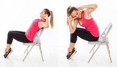 14 Powerful Chair Exercises to Work the Entire Body