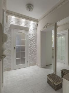 Hallway wall design  #design #hallway
