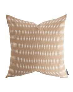 Woven of lightweight cotton, the Lyle Pillow Cover's small-scale pattern adds the right amount of interest in a soothing color palette. The small thread pulls in the fabric give this pillow just the right amount of character! Down insert is not included. Couch Pillows, Throw Pillows, Cushions, Casual Family Rooms, Small Basements, Thing 1, Studio Mcgee, Soothing Colors, Pop Up Shops