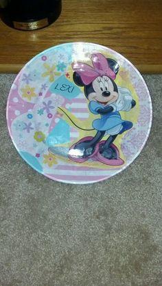 Decoupage plate