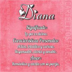 Diana. Nombre, significado.