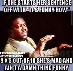 Funny but Forreal tho....
