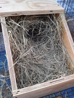 How To Build Rabbit Nest Boxes – HOMEGROWN
