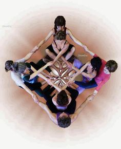 Mandala of Women ~ Sacred geometry