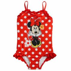 Disney Mickey Mouse & Friends Minnie Mouse 1-pc. Swimsuit - Toddler