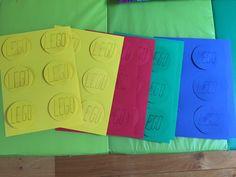 7° Ripeti per 4 colori : verde, giallo, rosso e blu