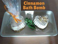 DIY Cinnamon Bath Bombs
