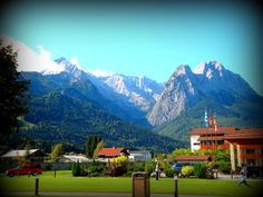 Edelweiss Lodge and Resort view.  Garmisch, Germany.  I love it here and want to go back so bad.