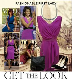 """""""First Lady Fashion"""" by the-world-is-your-runway on Polyvore"""