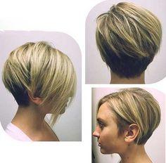 Simple Edgy Short Hair