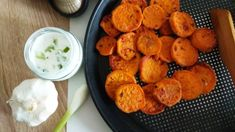 Grilované bataty Snack Recipes, Snacks, Ale, Chili, Almond, Muffin, Breakfast, Food, Snack Mix Recipes