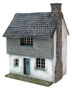 Cockleshell Cottage (A quarter scale dolls house) www.petite-properties.com