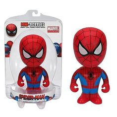 Marvel Mini Spiderman Bobble http://popvinyl.net #funko #funkopop #popvinyls