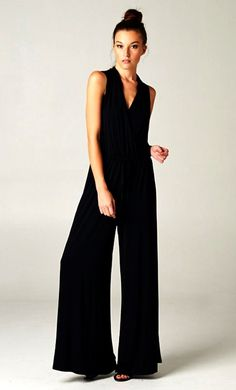 Madison Jumpsuit in Black