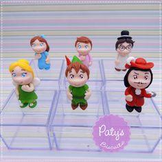 Caixinhas Decoradas Peter Pan / Tinker Bell / Sininho - Festa Infantil - Paty's Biscuit