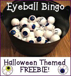 Fun little Halloween FREEBIE!