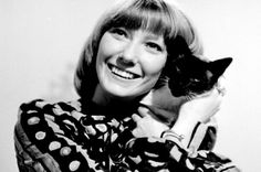 Lesley Judd with Jason the cat, Blue Peter in the History Of Television, Blue Peter, Blink Of An Eye, Page Boy, Kids Tv, Boyish, Dr Who, Fashion History