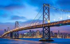 Featured Photo from the Fstoppers Community - Title: City by the Bay Photographer: Ross Murphy  The Bay Bridge and San Francisco from Treasure Island at dusk. by officialfstoppers