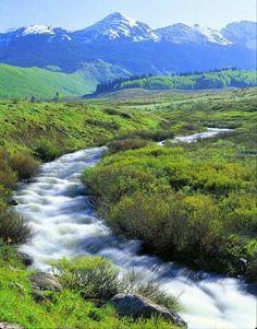 Crooked Creek Pass, Colorado: