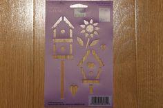 Plaid Simply Stencils Birdhouses 28131   eBay
