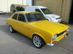 Escort Mk1, Ford Escort, Ford Bronco, Ford Classic Cars, Old Fords, Car Ford, Mellow Yellow, Cars And Motorcycles, Muscle Cars