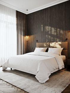 Povarskaya on Behance Art Deco Bedroom, Home Room Design, Master Bedroom Design, Home Bedroom, Bedroom Designs, Adobe Photoshop, Lightroom, Elegant Living Room, House Rooms