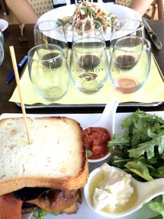 Incredible food and tasty wine found at Laurence Winery. Margaret River, Western Australia