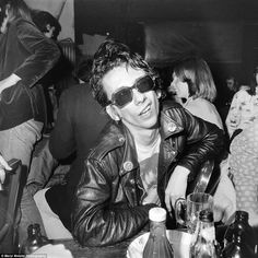 Stiv Bators of the Dead Boys gives a 'punk sneer' in the New York City club CBGB in April ...