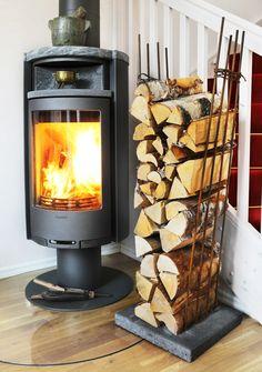 Rebar fire wood storage DIY - VERY EASY
