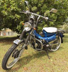 Custom built 1991 Honda 140cc CT110X Postie bike in Cars, Bikes, Boats, Motorcycles, Classic, Collector | eBay