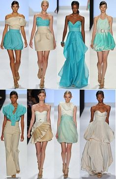 A winning Project Runway collection.