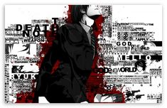 Death Note Typography wallpaper