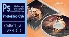 Caratula de CD en #Photoshop by @idearteps @idearteco #ideaprende #disenografico www.idearte.co