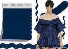 Pantone Spring/ Summer 2018 Color Trends: Sailor Blue