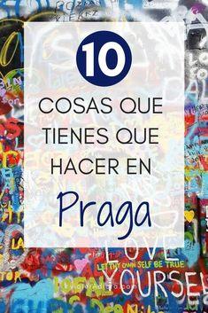 10 cosas que tienes que hacer en Praga! #viaje #praga #turismo Eurotrip, Languages, Travel Tips, World, Anime, Prague Travel, The World, Speech And Language, Anime Shows