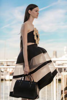 The #Delpozo Black Benedetta bag.