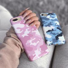 Pink Camo iPhone Case