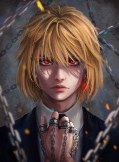 Kurapika - Hunter x Hunter Hisoka, Killua, Leorio Hxh, Anime Boys, M Anime, Hot Anime Boy, Fanarts Anime, Cute Anime Guys, Anime Art