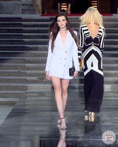 New York Fashion, Runway Fashion, Couture Dresses, Fashion Dresses, Business Outfits Women, Fit N Flare Dress, Korean Girl Fashion, Jacket Dress, Catwalk