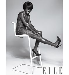 Viola Davis for Elle