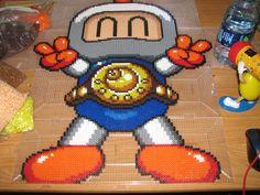 Bomberman perler beads by ndbigdi on deviantART