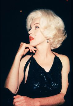 {Marilyn Monroe at the 1962 Golden Globes}