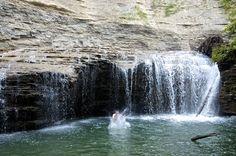 Zoar Valley Swimming Hole