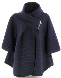 Charleselie94 - Cape Veste Manteau Ample Grande Taille 38/54 - MATILDA - Femme - CharlesElie94: Amazon.fr: Vêtements et accessoires