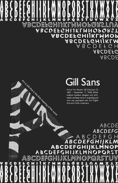 gillsans poster - Google 검색