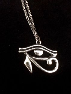 A personal favorite from my Etsy shop https://www.etsy.com/listing/279093446/surgical-steel-silver-eye-of-horus