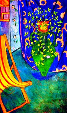 Matisse....the blue is the color on my living room walls....LOVE LOVE LOVE