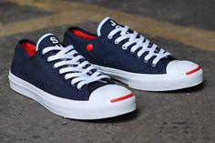 Slam Jam  First String make the Converse Jack Purcell interesting again ... Theres not a lot you can do with a Converse ...